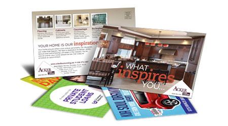 Postalizzazione prodotti pubblicitari