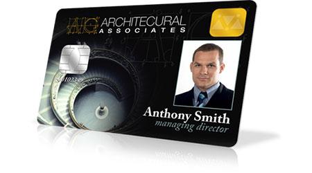 card personalizzata con fototessera