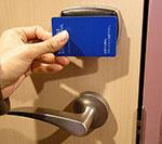 card sostitutiva della chiave per apertura porta