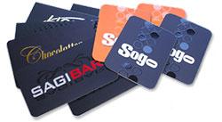 card personalizzate in diverse taglie