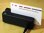 Card con banda magnetica da strisciare