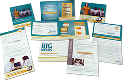 Esempi di materiale per mailing postale